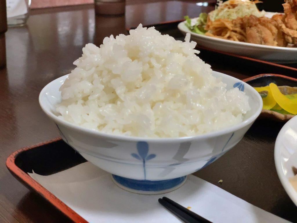 宮崎サラメシ「やっこ」大盛りご飯