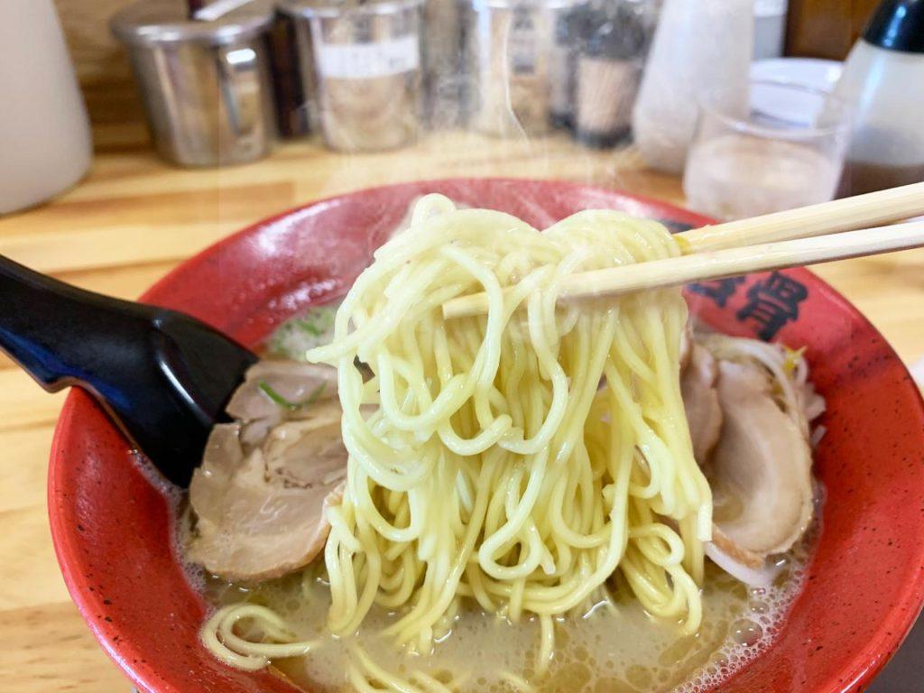 宮崎ラーメン屋台骨麺
