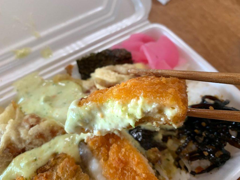 押川弁当おしべんのり弁