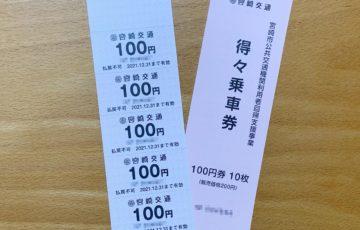 宮崎バス1日乗車券