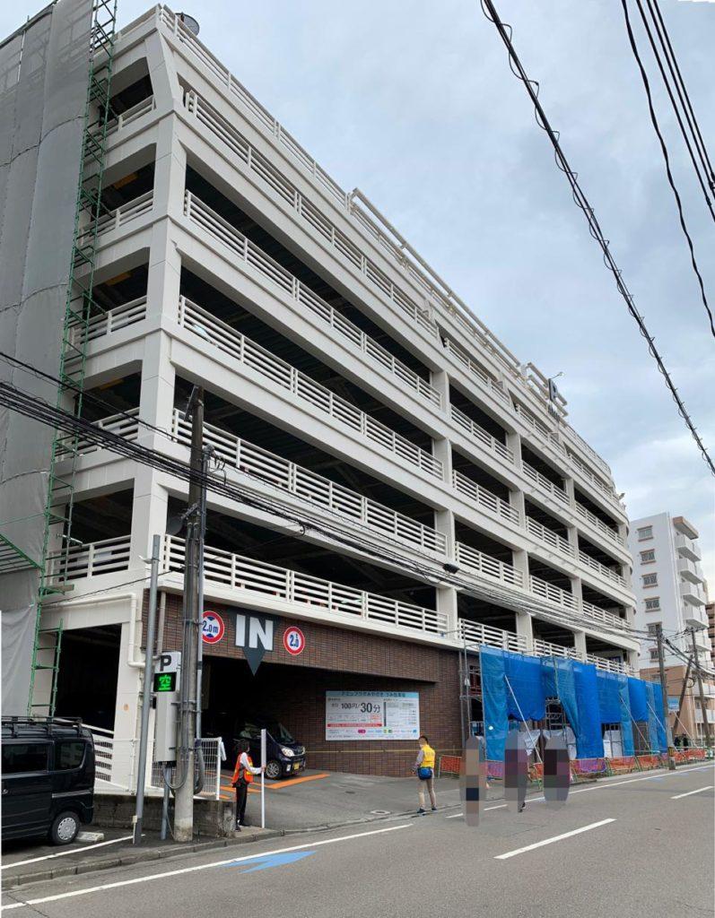 アミュプラザ宮崎うみ館駐車場