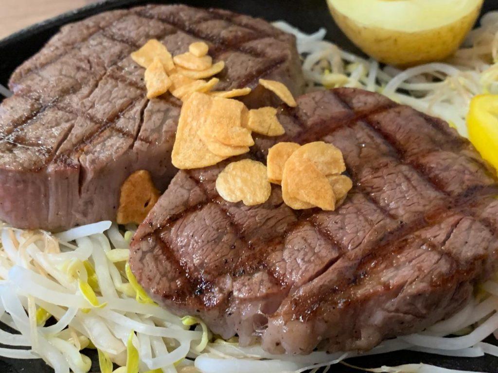 岡崎牧場ステーキ店ヒレ肉拡大