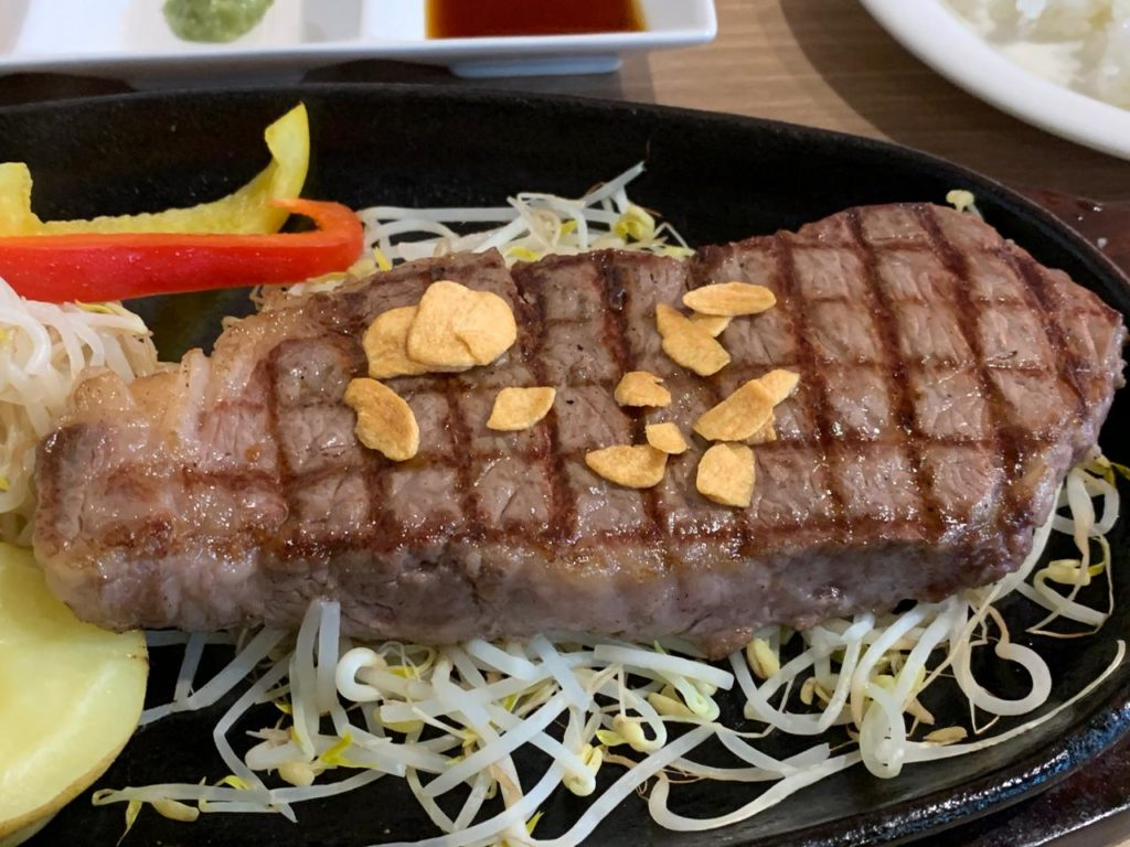 岡崎牧場ステーキ店ロース