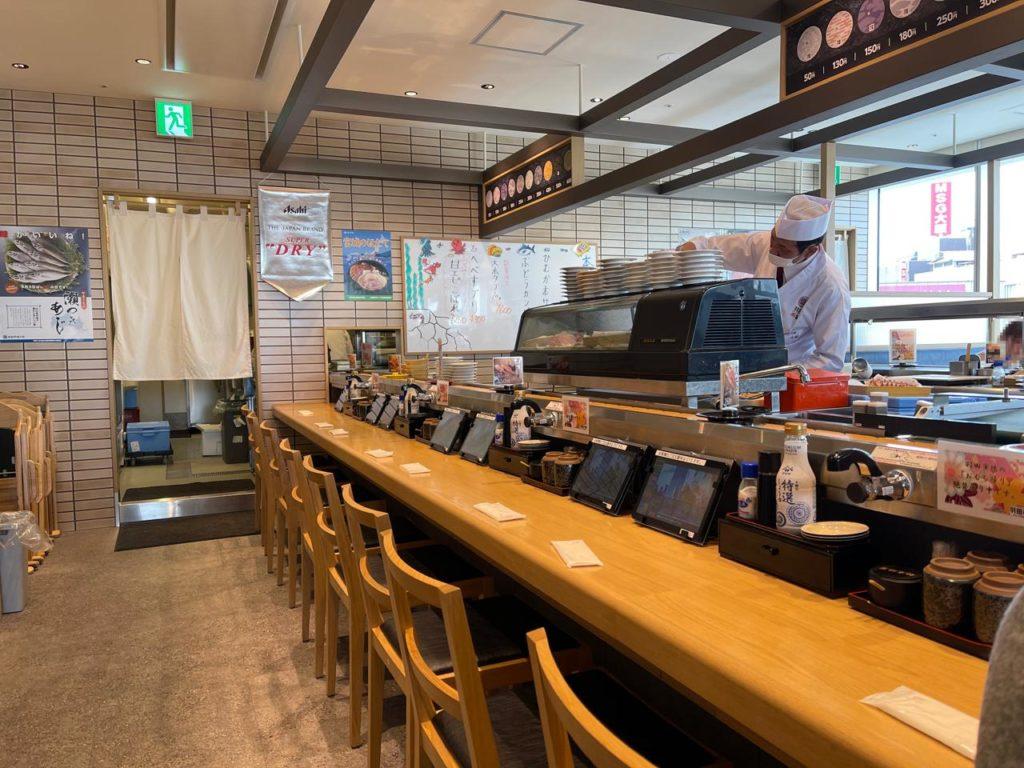 アミュプラザ宮崎【羽田市場」カウンター写真2