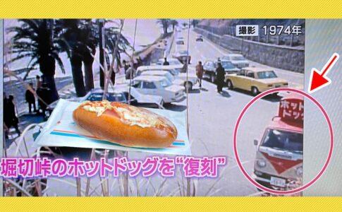 宮崎堀切峠のホットドッグ