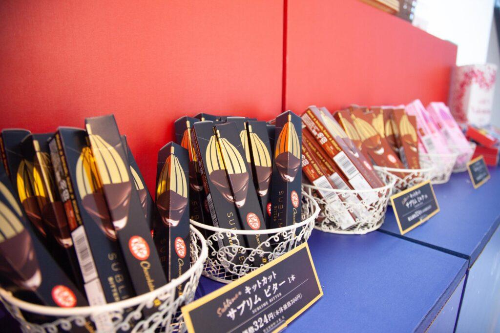 アミュプラザ宮崎バレンタインキットカット ショコラトリー
