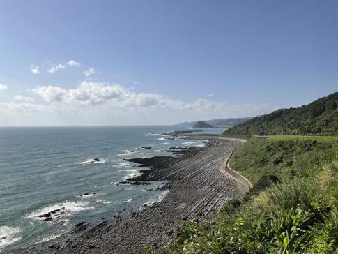 宮崎の海の景色